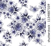 abstract elegance seamless... | Shutterstock .eps vector #1134887339