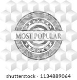 most popular realistic grey... | Shutterstock .eps vector #1134889064