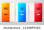 rosh hashana brochure web...   Shutterstock .eps vector #1134899183