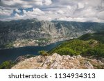 panorama view from vrmac on... | Shutterstock . vector #1134934313