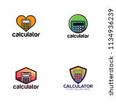 calculator logo design