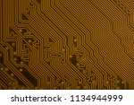 close up of circuit computer... | Shutterstock . vector #1134944999