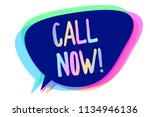 handwriting text writing call... | Shutterstock . vector #1134946136