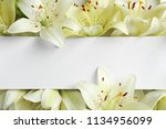 Beautiful Lily Flowers And...