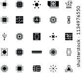 microchip icon set   Shutterstock .eps vector #1134976550