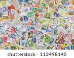 Postage Stamps From Different...