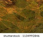 contemporary art. hand made art.... | Shutterstock . vector #1134992846