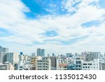 asia business concept for real... | Shutterstock . vector #1135012430