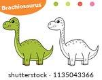 educational game for preschool...   Shutterstock .eps vector #1135043366