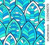 seamless abstract pattern.... | Shutterstock .eps vector #1135048370