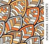 seamless abstract pattern.... | Shutterstock .eps vector #1135048373