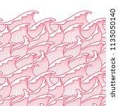 seamless abstract pattern.... | Shutterstock .eps vector #1135050140