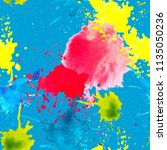 vector artistic seamless... | Shutterstock .eps vector #1135050236