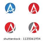 vector   business corporate... | Shutterstock .eps vector #1135061954