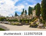 nice  france   june 23  2018 ... | Shutterstock . vector #1135070528