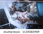 investor analyzing stock market ...