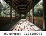 outdoors walkway traditional... | Shutterstock . vector #1135108076
