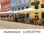 copenhagen  denmark   july 8 ... | Shutterstock . vector #1135137743