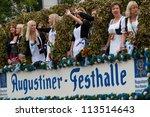munich   september 22  opening...   Shutterstock . vector #113514643