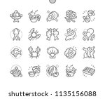 seafood well crafted pixel...   Shutterstock .eps vector #1135156088