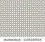abstract geometric vintage... | Shutterstock .eps vector #1135165514