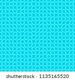 abstract geometric vintage... | Shutterstock .eps vector #1135165520