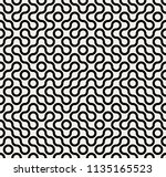 abstract geometric vintage... | Shutterstock .eps vector #1135165523