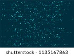 abstract technology corrupted... | Shutterstock .eps vector #1135167863
