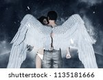 3d Illustration Of An Angels In ...
