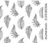 vector botanical illustration... | Shutterstock .eps vector #1135182566