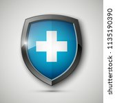 medical health protection... | Shutterstock .eps vector #1135190390