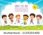 vector illustration of cartoon... | Shutterstock .eps vector #1135201400