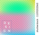 vector bright geometric... | Shutterstock .eps vector #1135202063