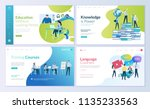 set of web page design... | Shutterstock .eps vector #1135233563
