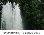 large top of fountain jet... | Shutterstock . vector #1135236413