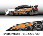 car decal graphic vector  truck ... | Shutterstock .eps vector #1135237730