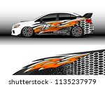 car decal graphic vector  truck ... | Shutterstock .eps vector #1135237979