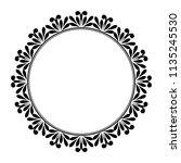decorative frame elegant vector ... | Shutterstock .eps vector #1135245530