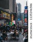 new york  usa   may 28  2018 ...   Shutterstock . vector #1135246586
