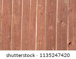 old rustic light red wood... | Shutterstock . vector #1135247420