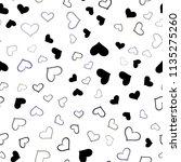 dark pink  blue vector seamless ... | Shutterstock .eps vector #1135275260