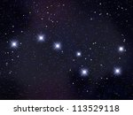 big dipper   plough | Shutterstock . vector #113529118