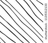 diagonal line hand drawn... | Shutterstock .eps vector #1135312133
