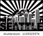Seattle Washington Outline...