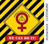 we can do it    industrial... | Shutterstock .eps vector #1135338380
