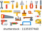 vector illustration set... | Shutterstock .eps vector #1135357460