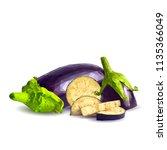 fresh  nutritious  tasty... | Shutterstock .eps vector #1135366049