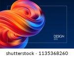 vector illustration  abstract... | Shutterstock .eps vector #1135368260
