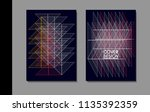 vector minimalistic cover... | Shutterstock .eps vector #1135392359