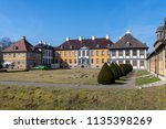 city oranienbaum with castle... | Shutterstock . vector #1135398269